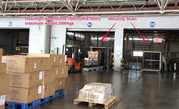 Air Freight Security Scan
