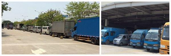 Unloading Air Freight